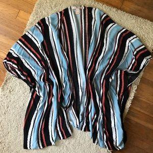 Forever 21 striped kimono